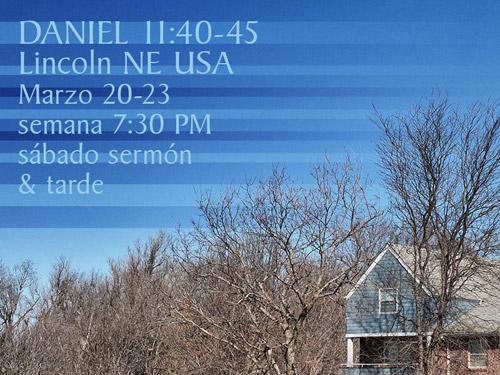 Daniel 11:40-45, Lincoln/ USA